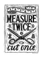 Measure Twice I Fine Art Print