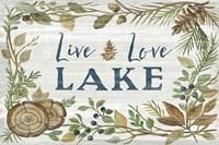 Lakeside Retreat III Fine Art Print