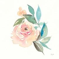 Watercolor Blossom II Fine Art Print