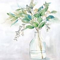 Eucalyptus Vase I Framed Print