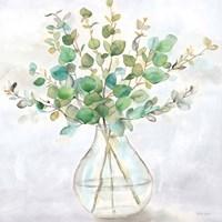 Eucalyptus Vase II Fine Art Print