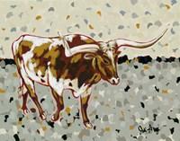 Longhorn Steer Fine Art Print