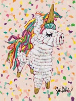 Queen Pinata Fine Art Print