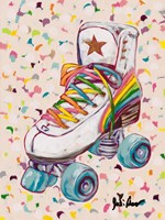 Retro Rainbow Fine Art Print