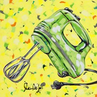 Kitchen Sketch Mixer Fine Art Print