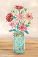Floral Jar I Fine Art Print