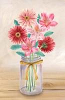 Floral Jar II Fine Art Print