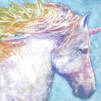 Colorful Unicorn Fine Art Print