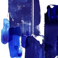 Indigo Abstract I Fine Art Print