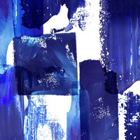 Indigo Abstract II Fine Art Print