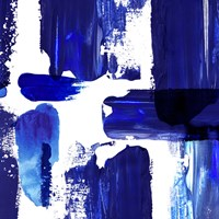 Indigo Abstract III Fine Art Print