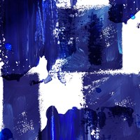 Indigo Abstract IV Fine Art Print