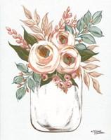 Floral Jar Fine Art Print