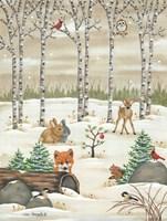 Woodland Critters Fine Art Print