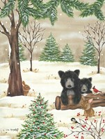 Bears & Bunnies Fine Art Print