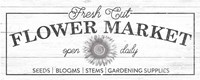 Flower Market I Fine Art Print