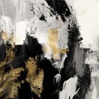 Neutral Gold Collage I Fine Art Print