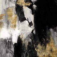 Neutral Gold Collage III Fine Art Print
