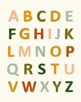 ABC 123 I Fine Art Print