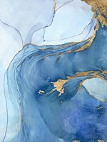 Sea Whirl I Fine Art Print