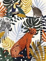 Jungle Jumble I Fine Art Print