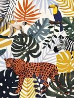Jungle Jumble II Fine Art Print