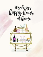 Happy Hour at Home I Fine Art Print