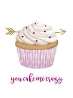 Valentine's Cupcake I Fine Art Print