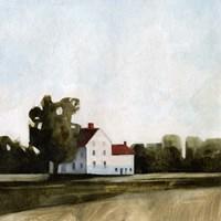 Quiet Farmhouse I Fine Art Print