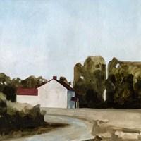 Quiet Farmhouse II Fine Art Print