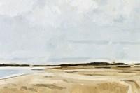 Quiet Coast I Fine Art Print