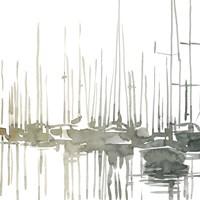 Early Morning Wharf I Fine Art Print