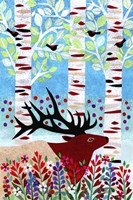 Forest Creatures I Fine Art Print