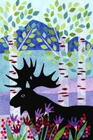 Forest Creatures XII Fine Art Print