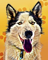 Pop Dog XIII Fine Art Print