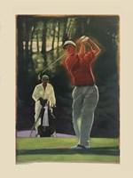 The Golfer Fine Art Print