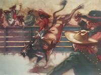 The Rodeo Fine Art Print