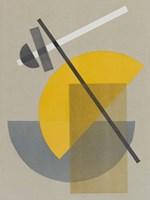 Homage to Bauhaus IV Fine Art Print