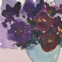 African Violet I Fine Art Print