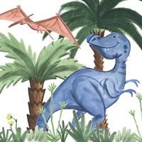 Dino Buddies I Fine Art Print