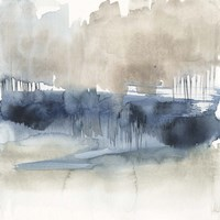 Fog on the Horizon I Fine Art Print