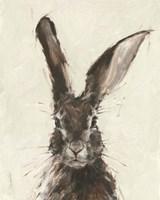 European Hare II Fine Art Print