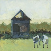 Crooked Cow Barn Fine Art Print