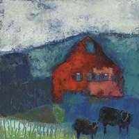 Bremen Bluff Barn Fine Art Print