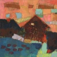 Farmville Barn Fine Art Print