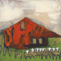 Rice Barn Fine Art Print