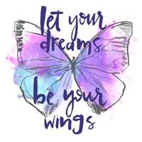 Butterfly Dreams I Fine Art Print