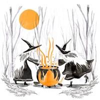 Witchy Mischief I Fine Art Print