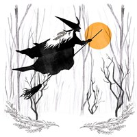 Witchy Mischief II Fine Art Print