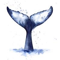 Whale Wave I Fine Art Print